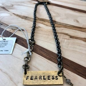 NWT Johnny ♥️'s June Fearless Necklace